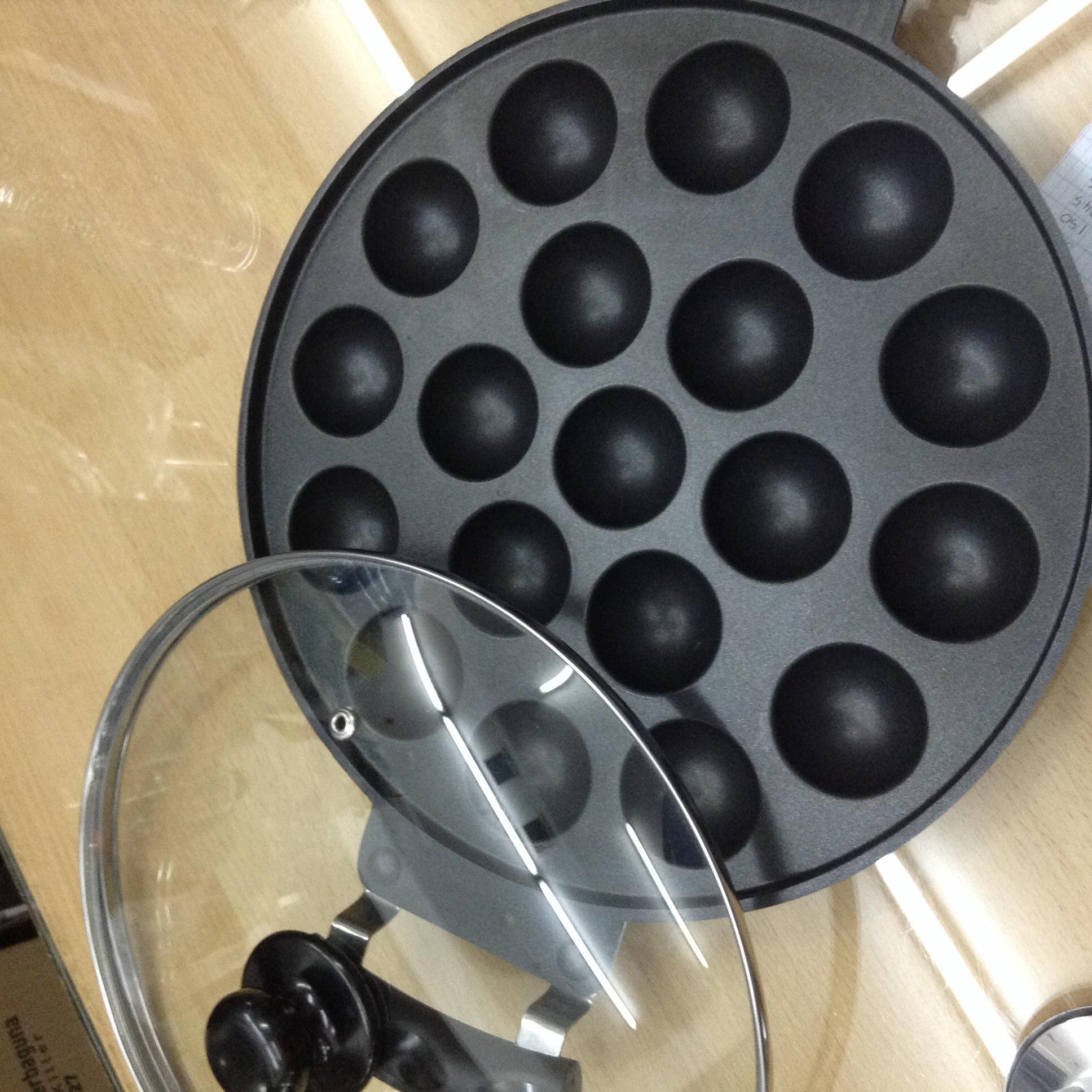Cetakan Kue Teflon Ball Pan 19 Holes Loyang Kue Takoyaki
