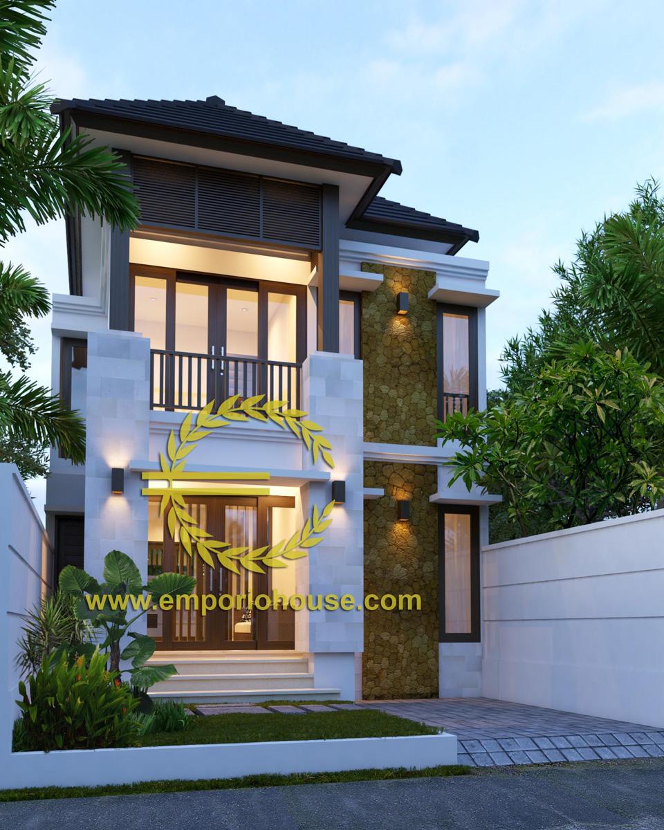Jual Desain Rumah 2 Lantai 4 Kamar Lebar 7 Type 120 Desain