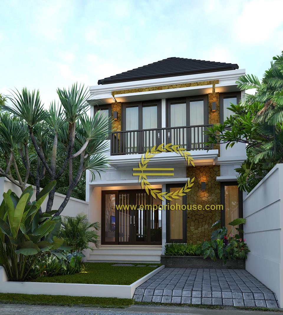 Jual Desain Rumah 2 Lantai 3 Kamar Lebar 6 M Type 90 Desain