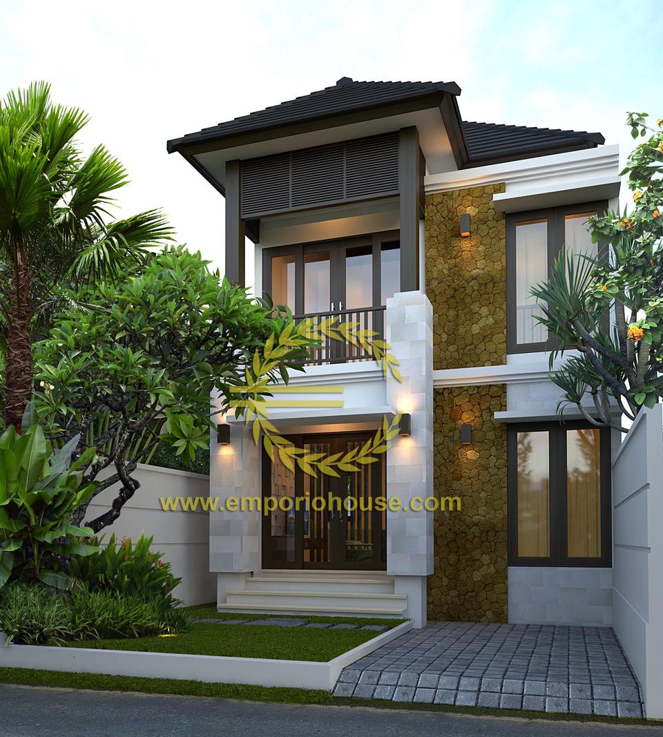 Jual Desain Rumah 2 Lantai 3 Kamar Lebar 7 M Type 90 Desain