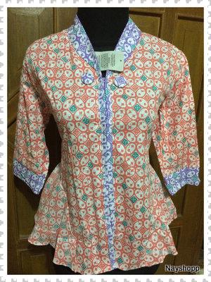 harga Blouse batik peplum, baju kerja, atasan kerja Tokopedia.com