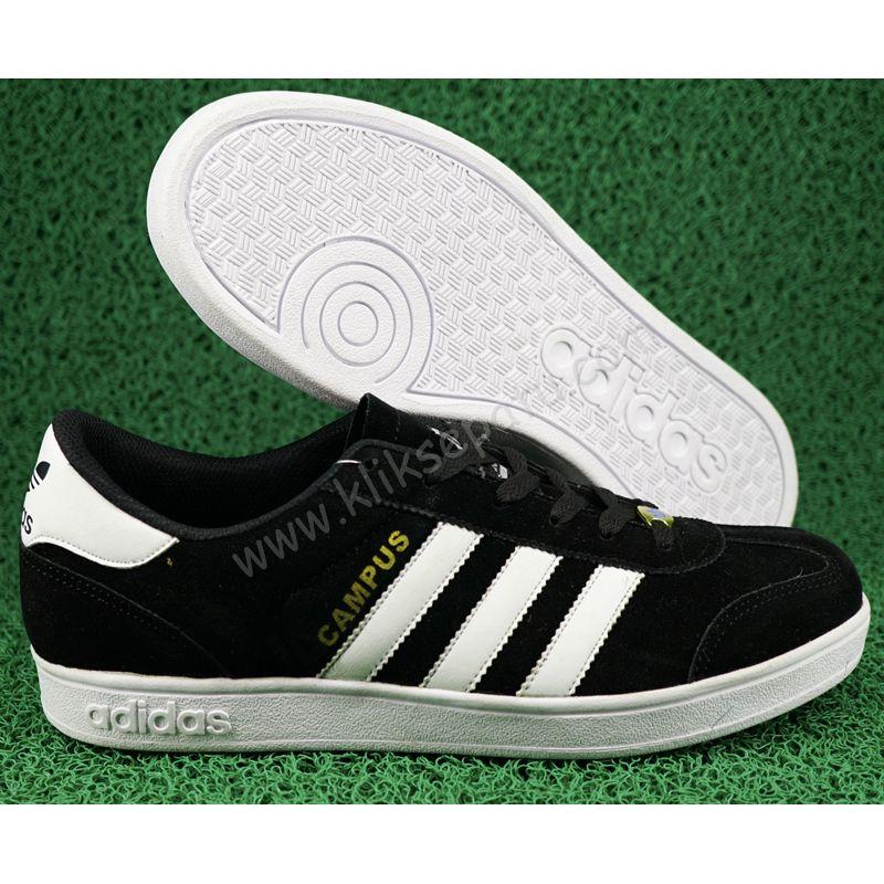 Jual Sepatu Casual   Sepatu Adidas   Sepatu adidas Campus Hitam ... 8c24dd5393