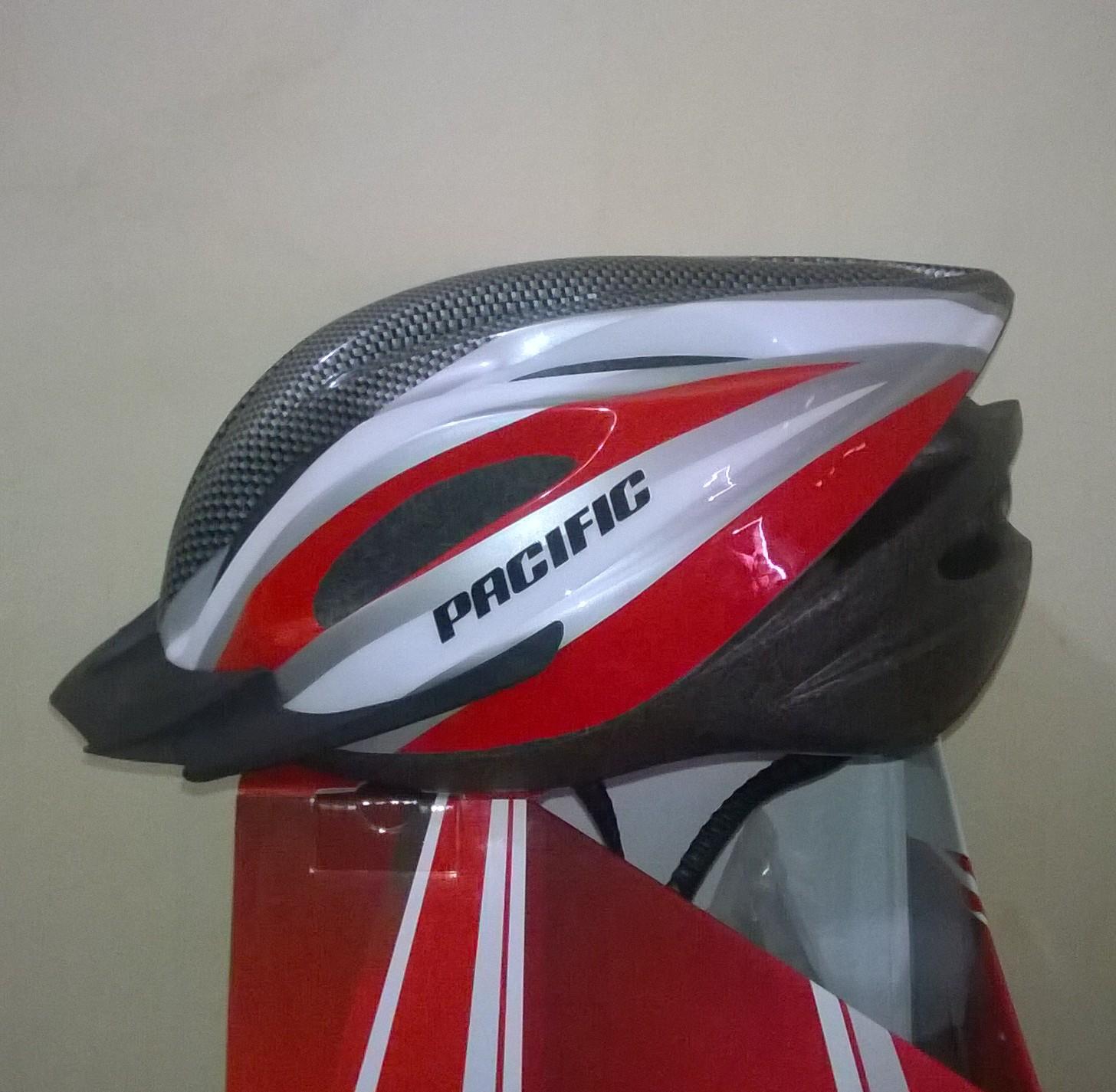 Helm Sepeda Merk Pacific 808 Elevenia Lipat Keren Modis Aman Overade Plixi White Jual Cek Harga Di Pricearea