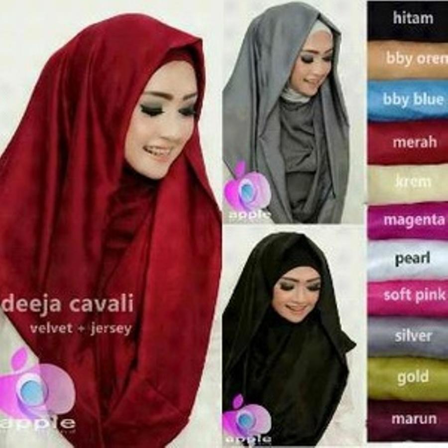 Model Baju Gamis Hijab Jilbab Deeja Cavali