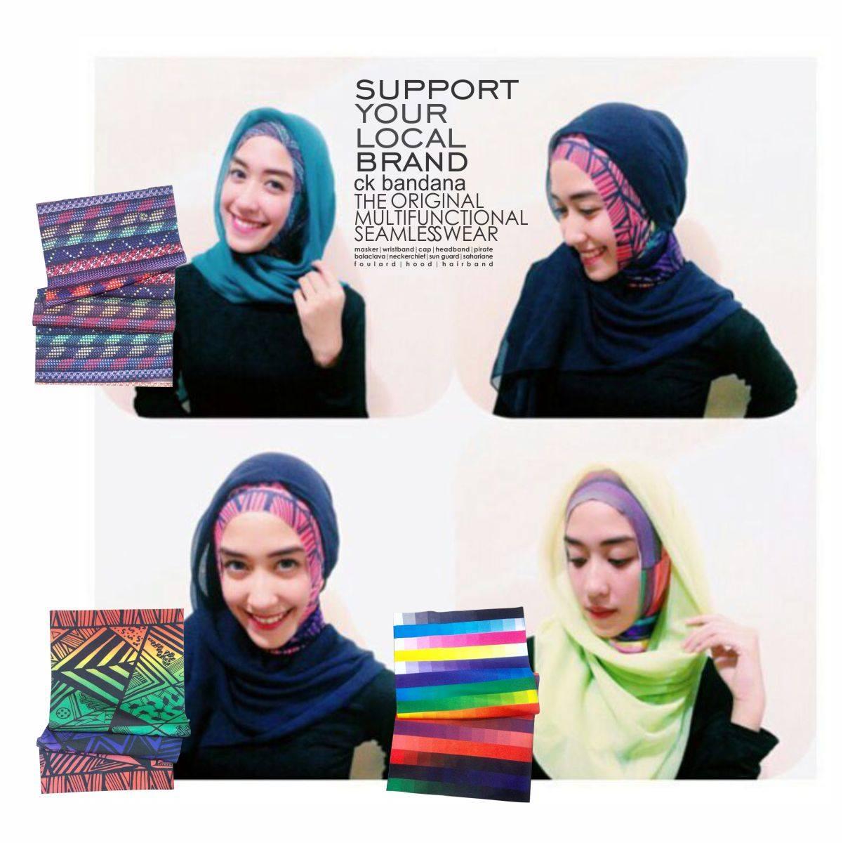 Buff Hijab (bahan lebih tebal)