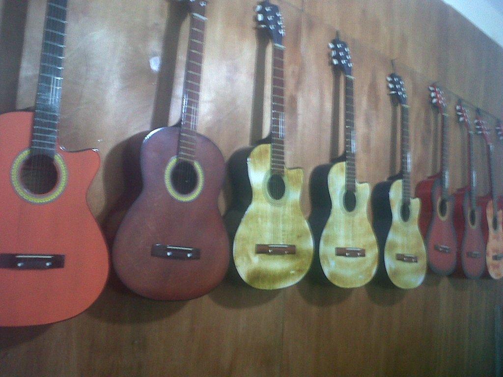 gitar akustik baru aneka warna-model ada bonus-garansi
