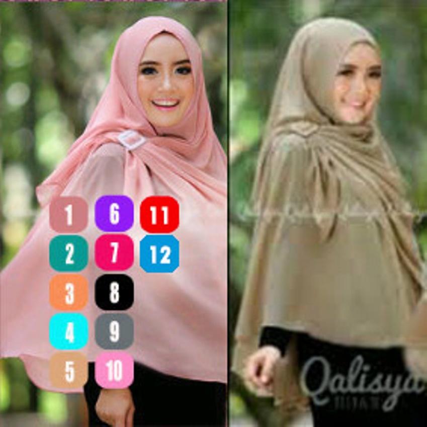 Model Baju Gamis Hijab Jilbab Khimar Syar'i Gesper