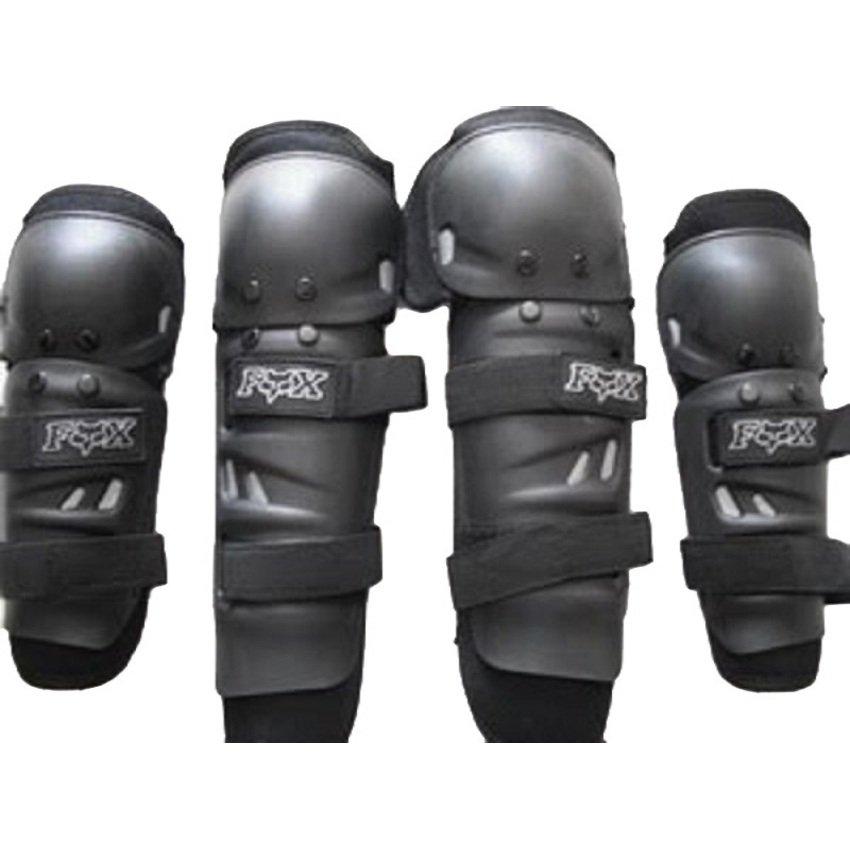 Dekker Pelindung Lutut dan Siku Standart - Hitam