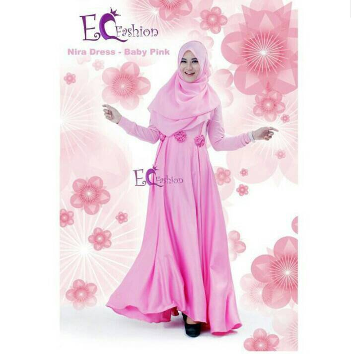 Nira Dress Pink - Hijab