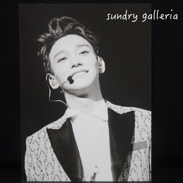 harga Chen EXO Postcard (photocard) from EXOLOGY ALBUM Tokopedia.com