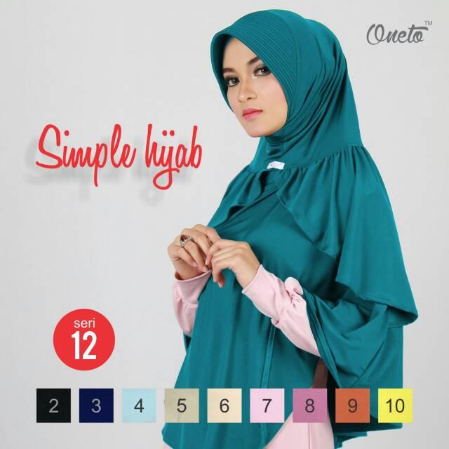 Jilbab Bergo SIMPLE HIJAB 12