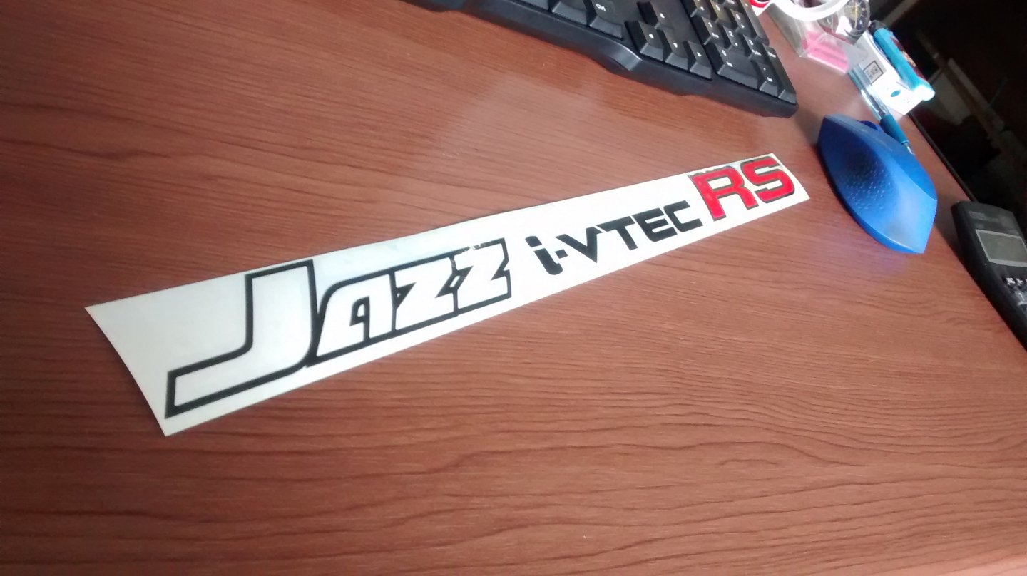 jdm sticker door jazz RS