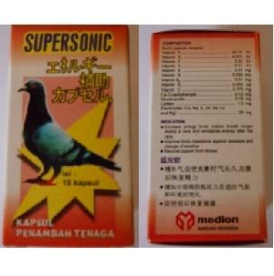 Obat Burung Merpati/Dara SUPERSONIC