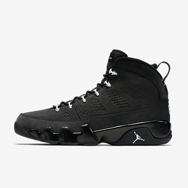 differently edf4d ac776 ... Sepatu Basket Air Jordan Retro IX Anthracite Original ...
