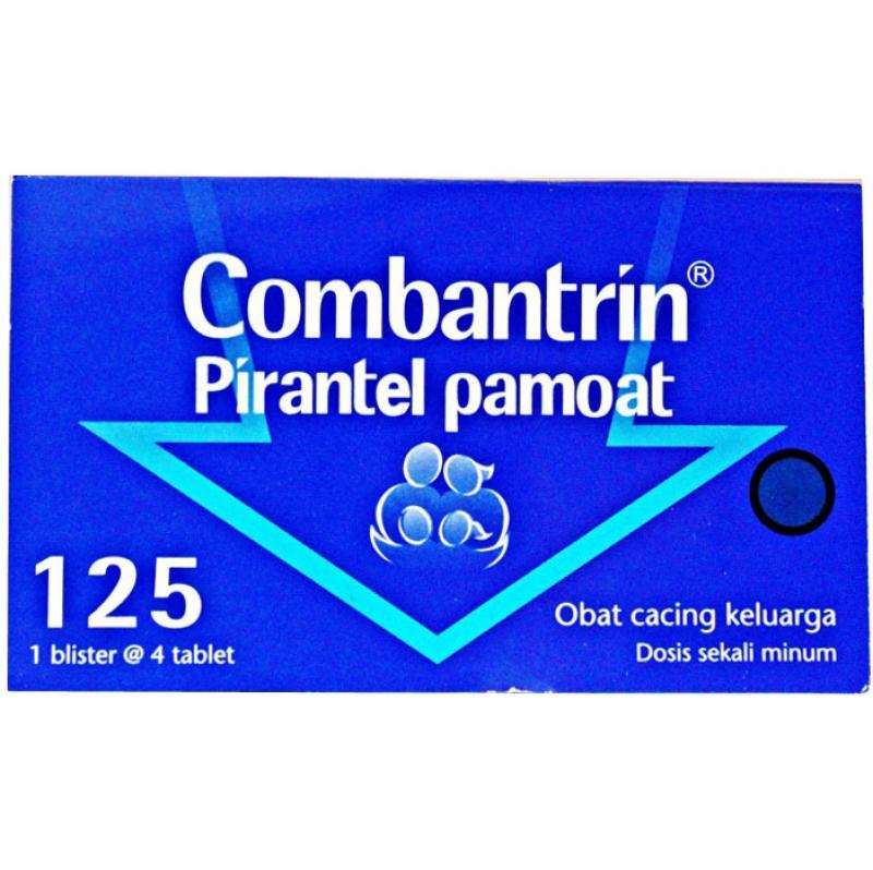 Jual Combantrin Obat Cacing 1 Blister 2 Tablet
