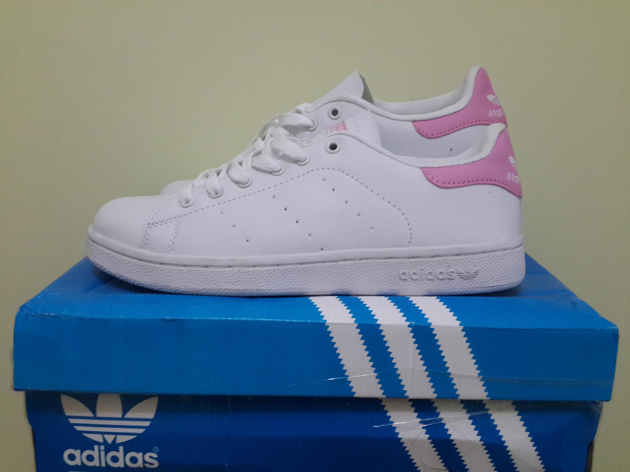 Jual Smith Sepatu Adidas Stan Smith Jual Putih Rosa Adidasshoes Tokopedia 845873