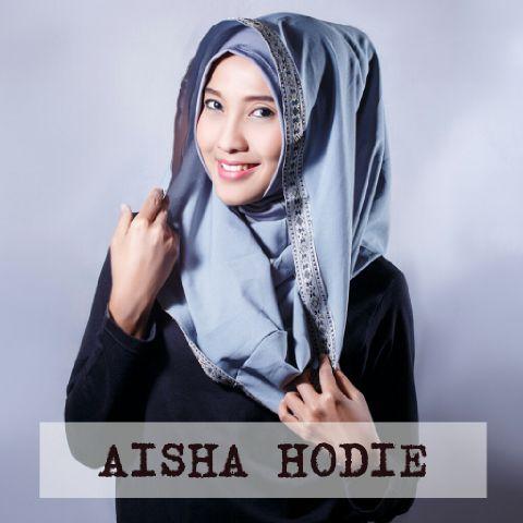 jilbab/hijab/kerudung/ hodie/hoodi instan Aisha Ori sinta super