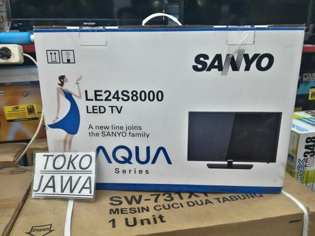 Jual LED TV SANYO 24inch 24s8000 AQUA Series