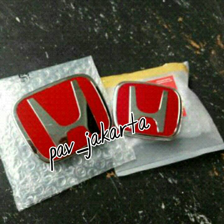 Red Emblem Honda Jazz, Jazz, City, Mobilio