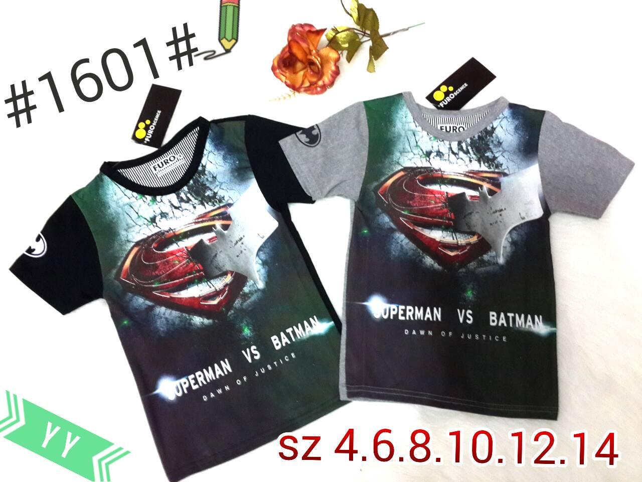 harga Kaos Printing Furo Logo Superman VS Batman # 1601# Tokopedia.com