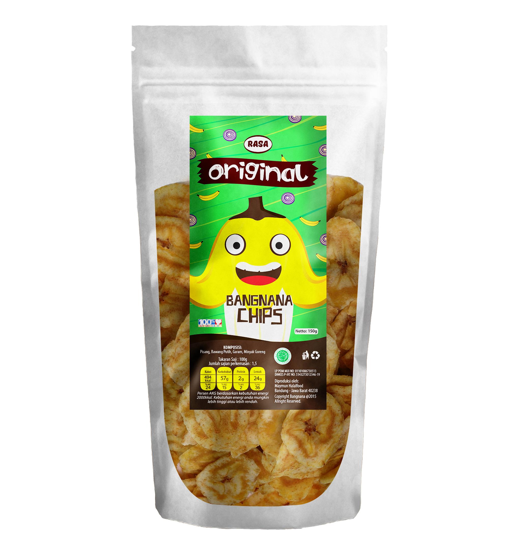 Jual Keripik Pisang Bangnana Chips Original Thistle Store Tokopedia