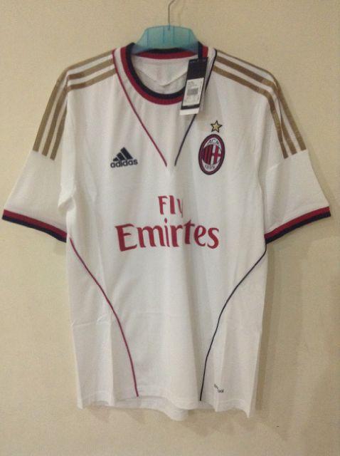 Jersey Away Ac Milan 13-14 Original Bukan Abal-Abal Asli Adidas