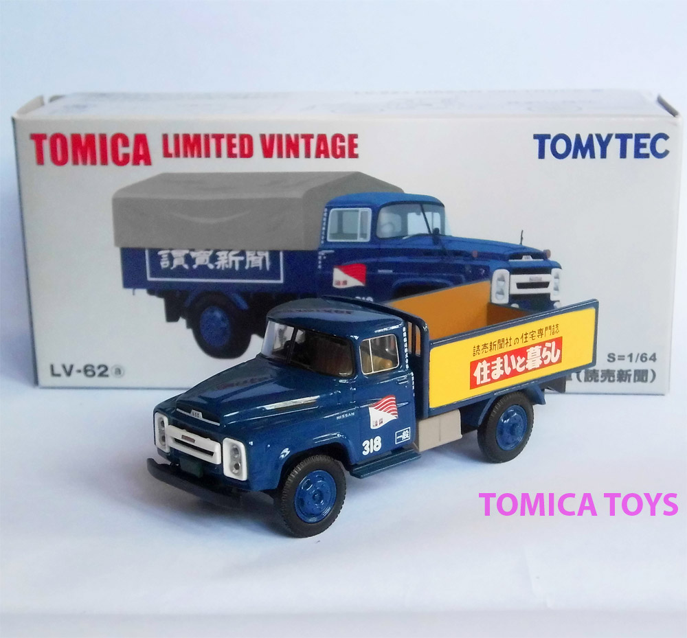Jual Tomica Limited Vintage Lv 62a Nissan Diesel 680 Newspaper Truck 1 64 Aksesoris Toys Tokopedia