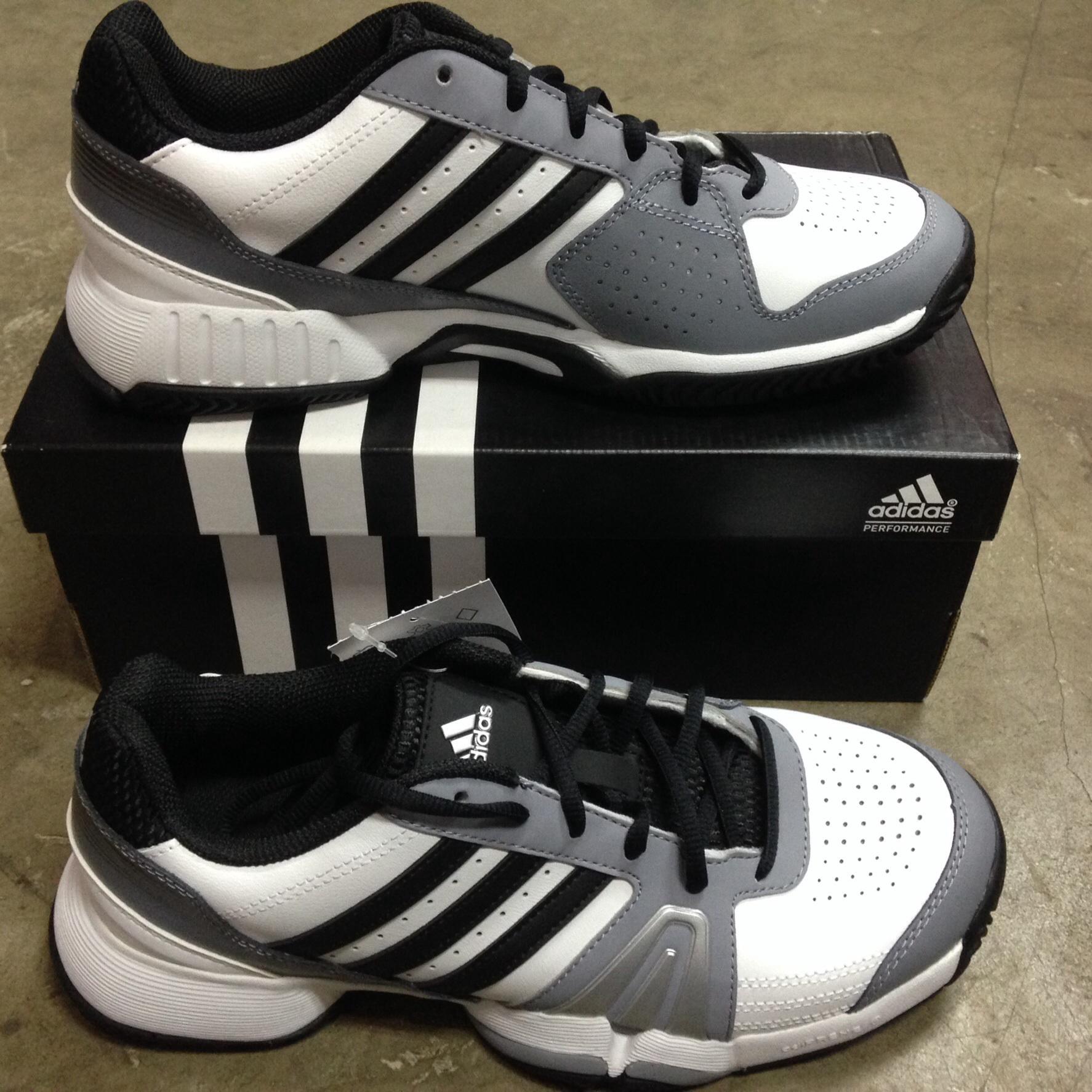 Jual Adidas Bercuda 3 Abu abu Size 42 Sepatu Tenis Sportsite