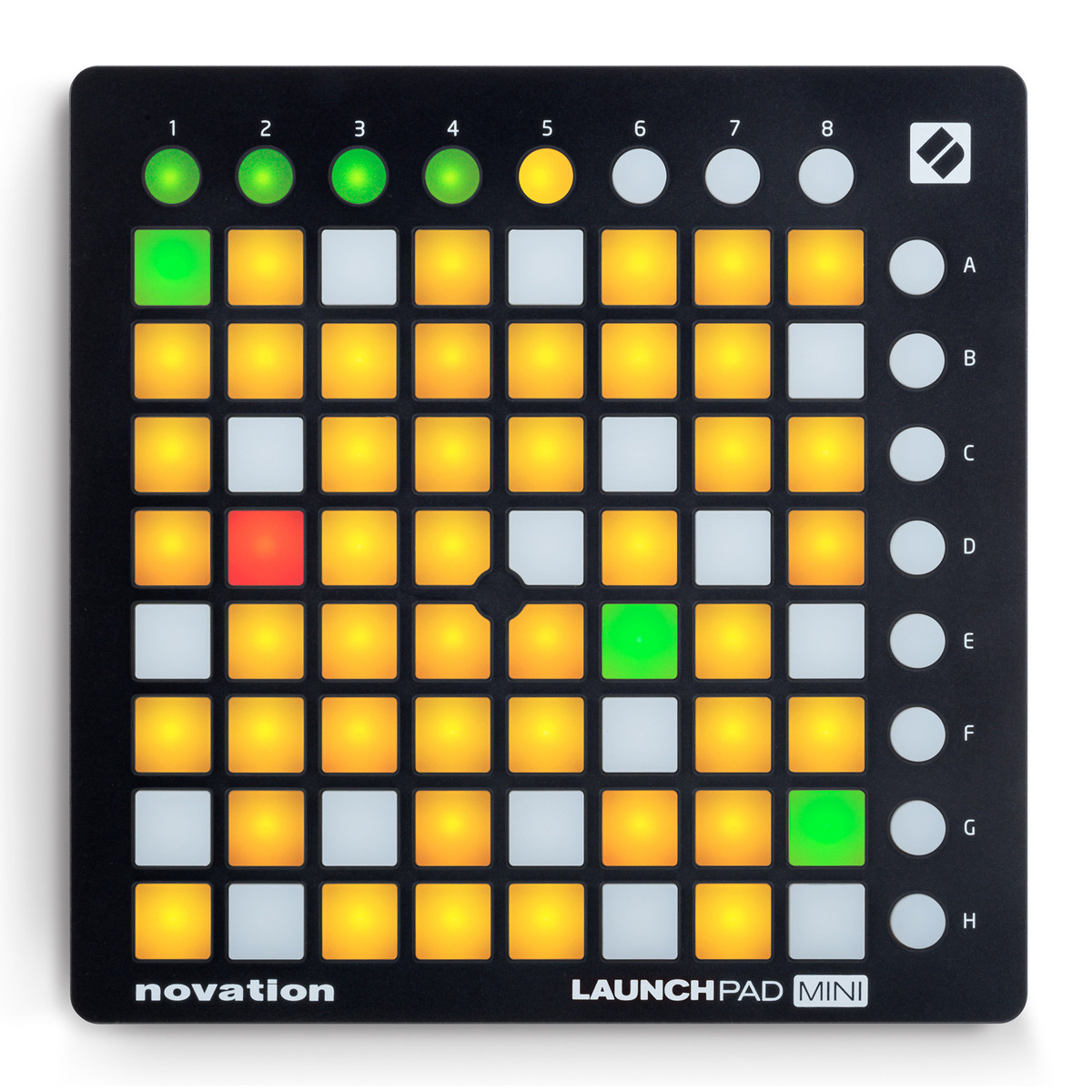 jual novation launchpad mini mk2 toko recording daw tokopedia. Black Bedroom Furniture Sets. Home Design Ideas