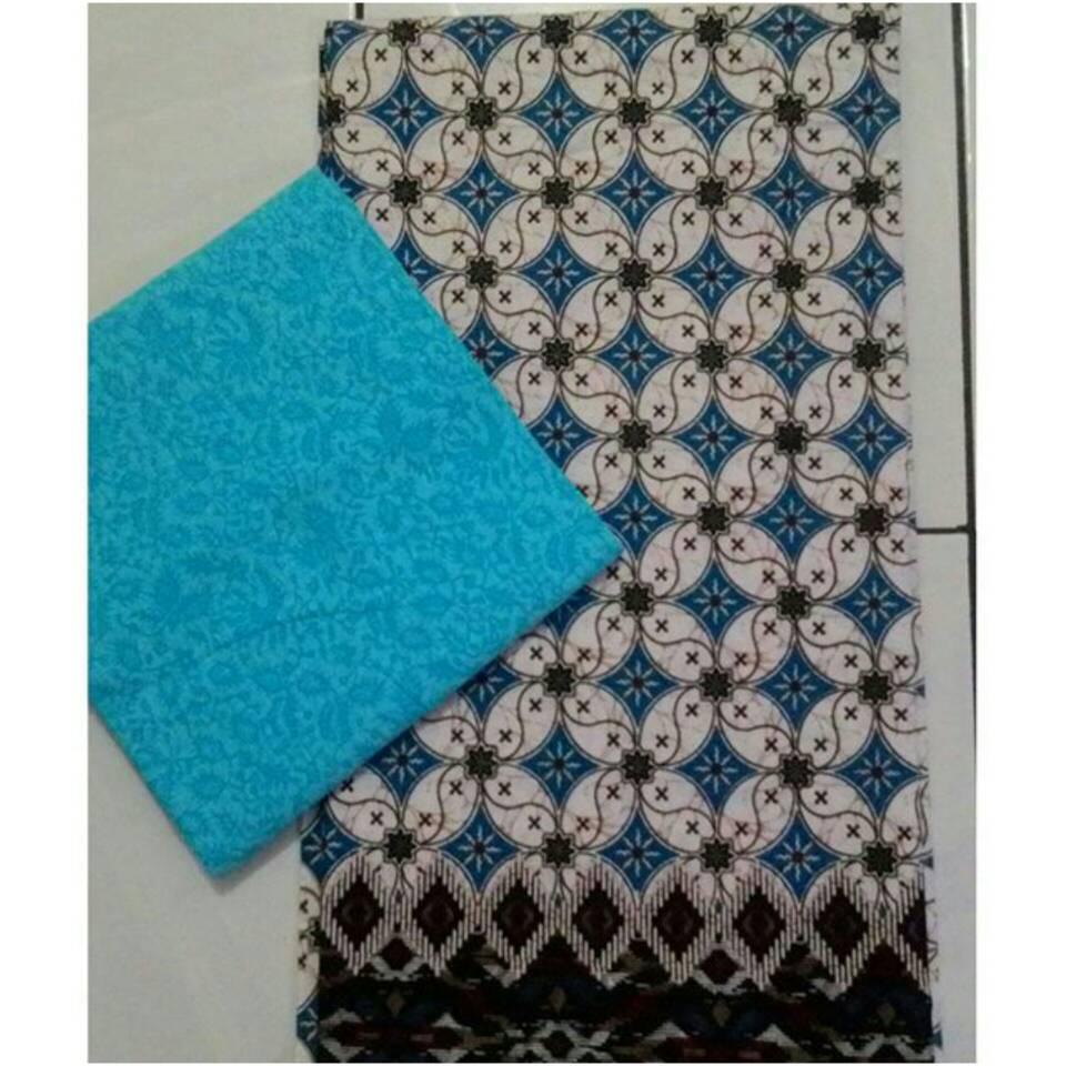 Jual Kain batik set motif truntum  batik embos  Batik Ezra