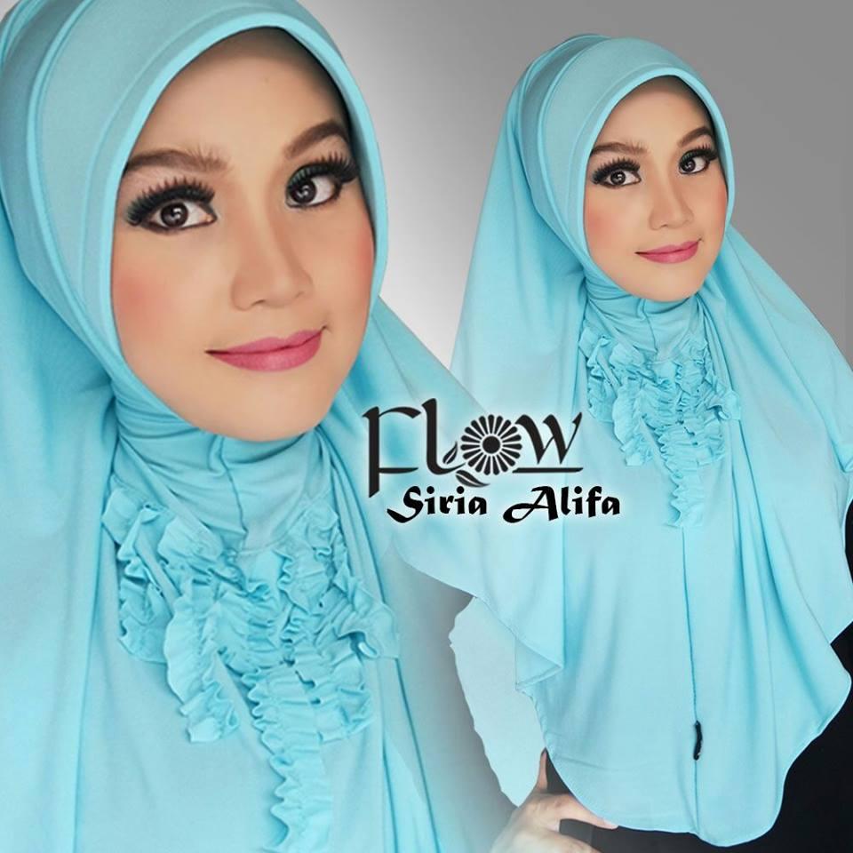 Jual Jilbab Siria Alifa By Flow Idea Riez Store Tokopedia Jilba