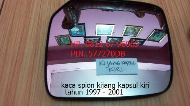 kaca spion toyota kijang kapsul tahun 1997 -2001 original sebelah kiri
