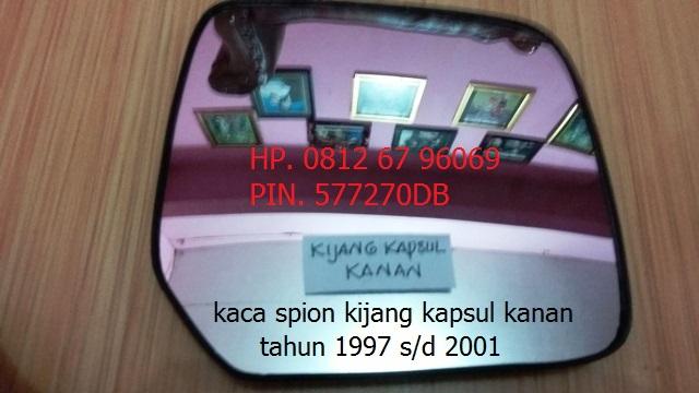 kaca spion toyota kijang kapsul tahun 1997-2001 original sebelah kanan