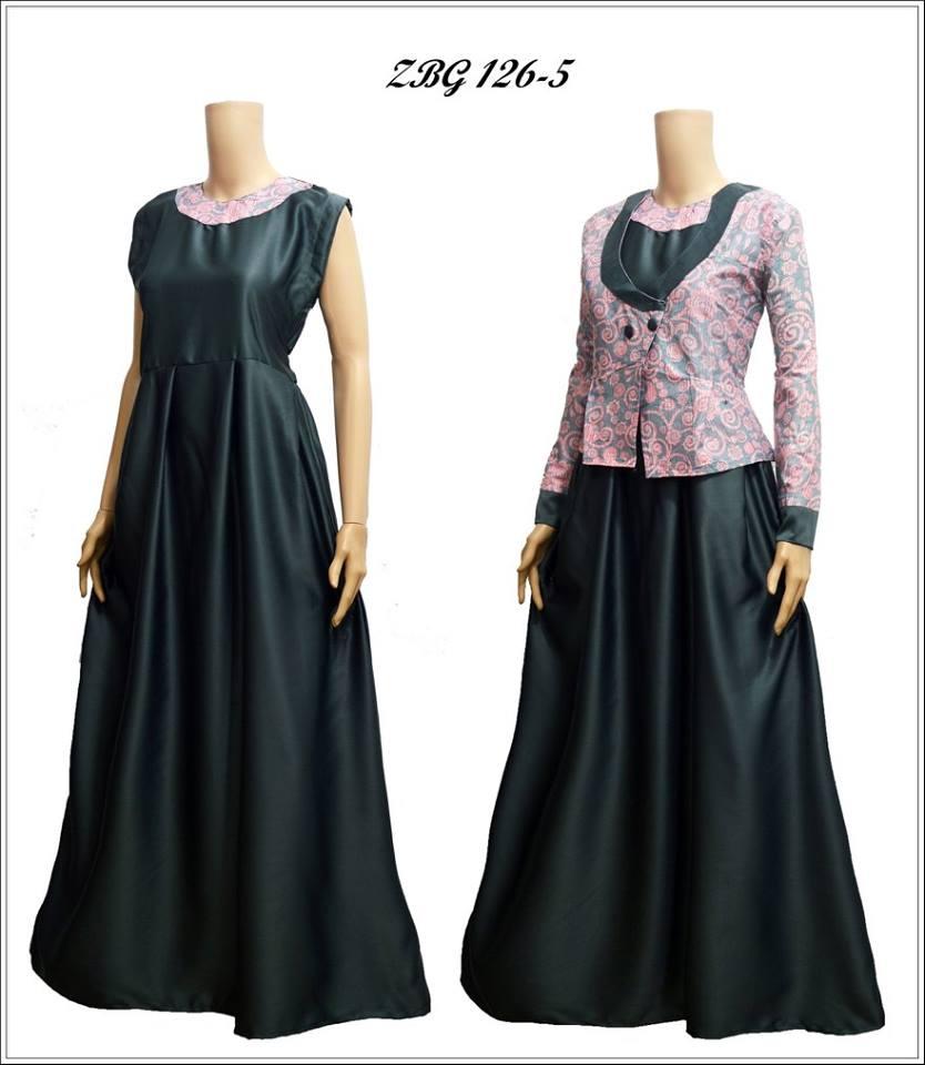 Model Baju Long Kardi Fashion Kebaya Muslim Pusat Toko