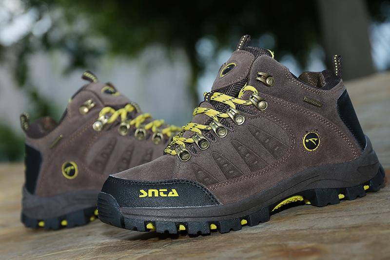 Jual Sepatu Gunung Hiking Boot Outdoor Waterproof SNTA 607