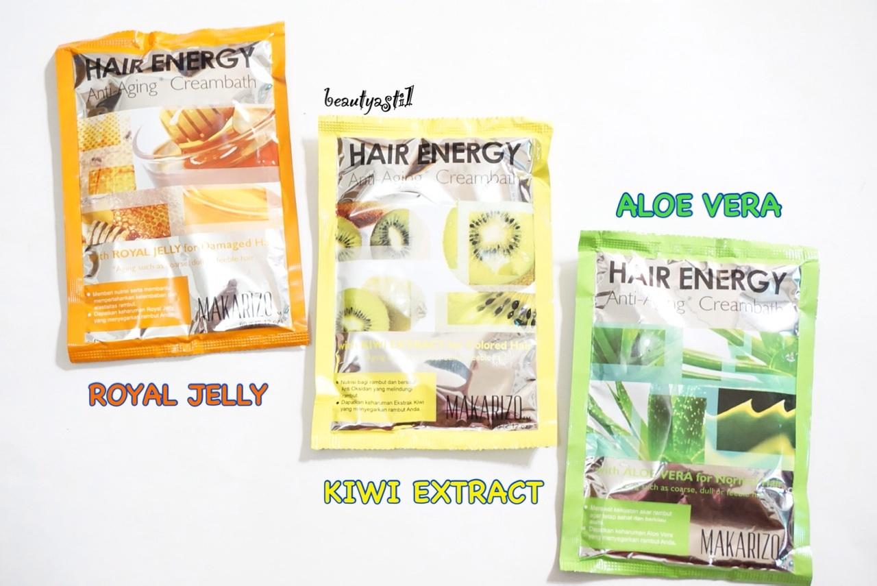 Makarizo Hair Energy Fibertherapy Royal Jelly Extract Scalp 60g X 4 Sachet Jual Creambath Masker