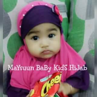 Kerudung Jilbab Bergo Hijab Bayi / Anak Maysuun (Pre Order)