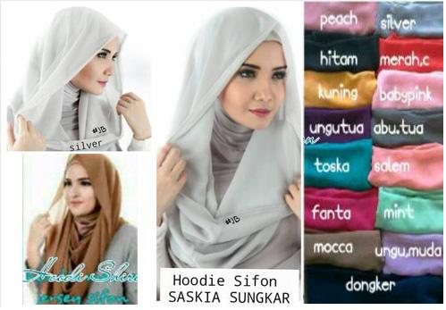 Hijab Jilbab Instant Hoodie Zaskia
