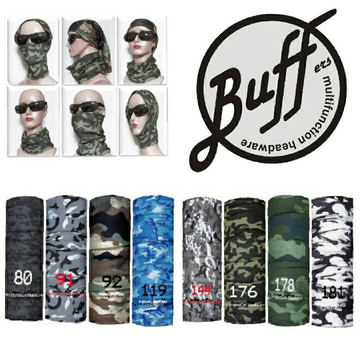 Buff bandana masker motor serbaguna elastis Tanpa sambungan (Seamless) - GAMBAR . Source ·