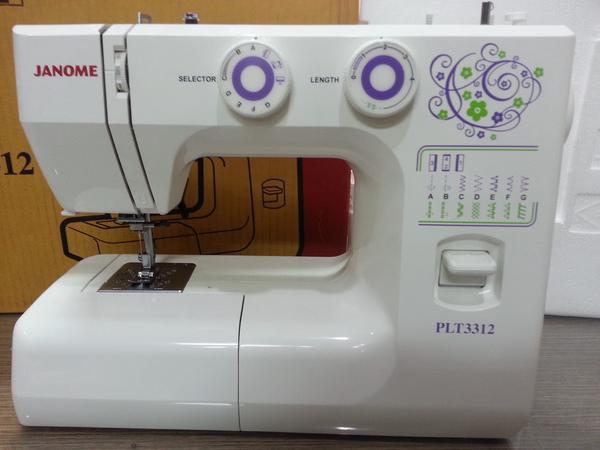 Mesin Jahit JANOME PLT 3312 (Portable)