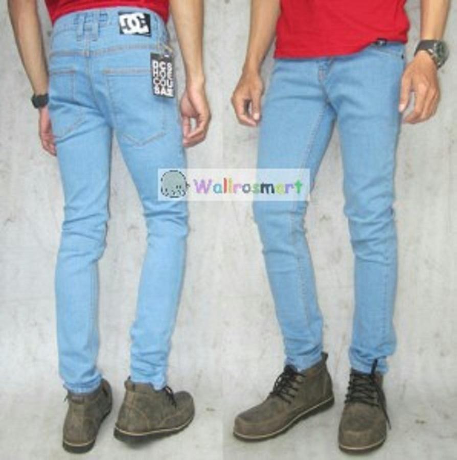 Celana Denim Pria Jeans Biru Muda Daftar Harga Barang Terkini Emba Fm316 Warna Hs Medium 33 Jual Dc Bioblitz Sk