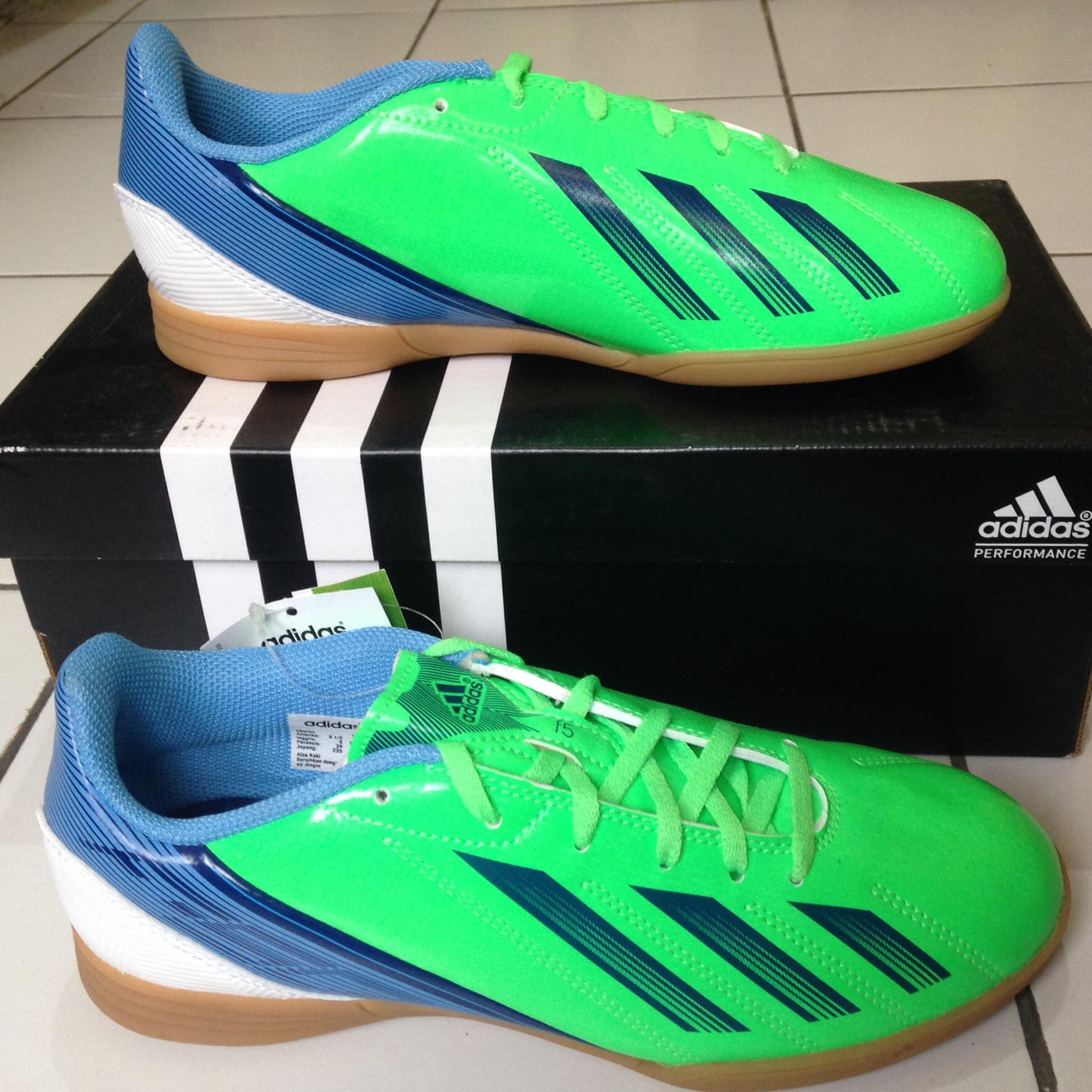 Jual Adidas F5 IN J Size 38. Sepatu Futsal - Sportsite