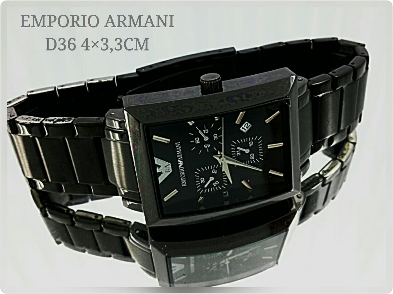 Jual JAM TANGAN EMPORIO ARMANI D36 - Dziq O Watch  d9917bc083