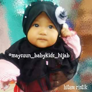 Kerudung Jilbab Bergo Hijab Bayi & Anak Maysuun (Pre Order)