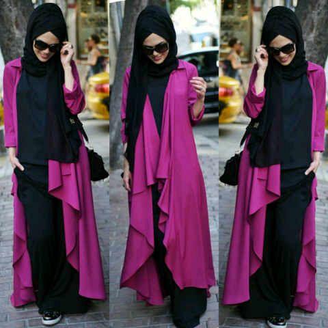 Hijab Jasmine Pink
