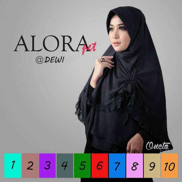 Hijab Jilbab Khimar Alora Pet