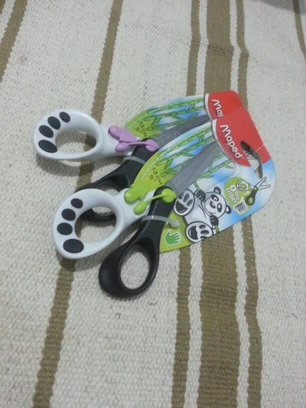 MAPED 0 effort scissors ( gunting anak tanpa tenaga, tanpa tanrum)