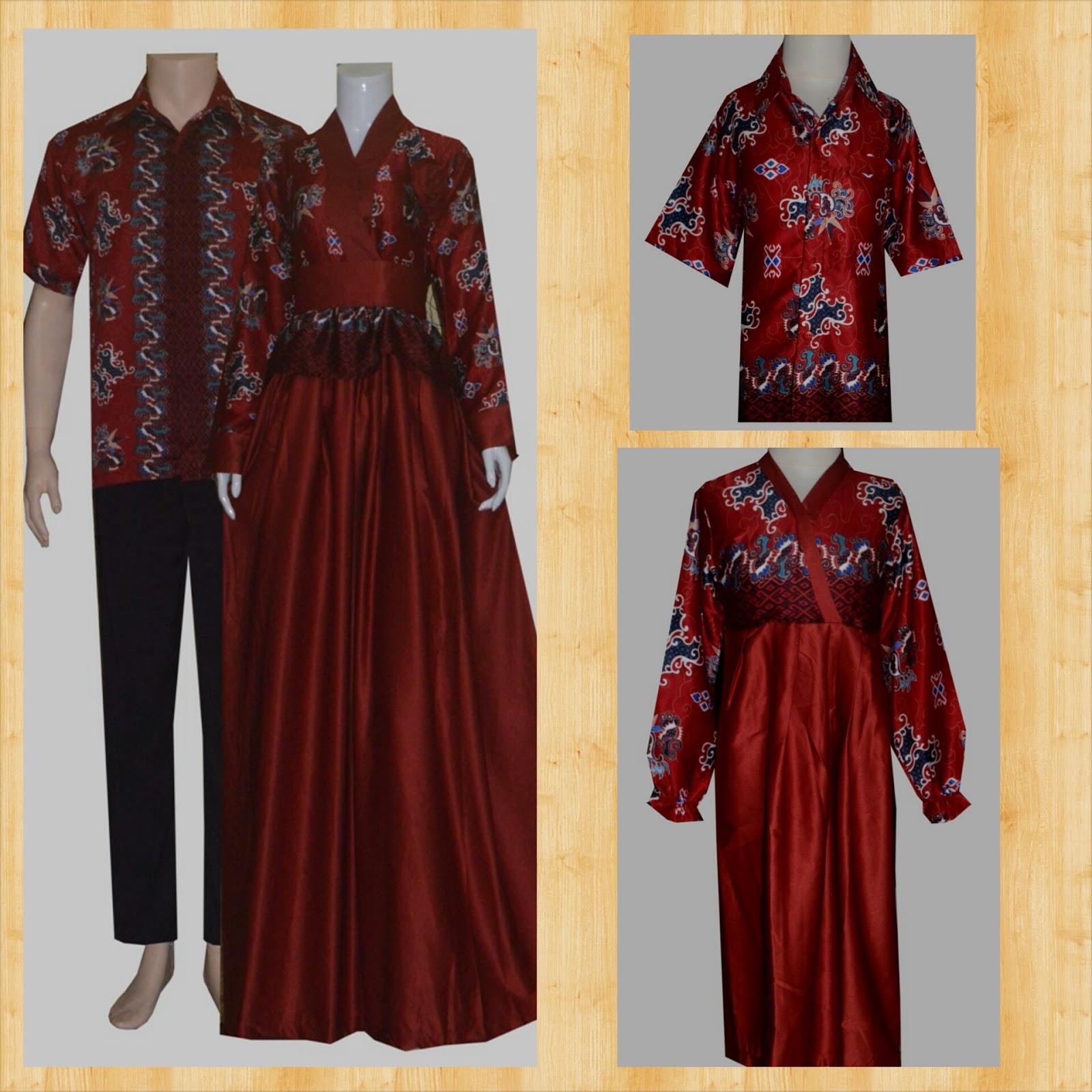 Jual Sarimbit Batik Baju Sarimbit Keluarga Couple Gamis Batik Seragam