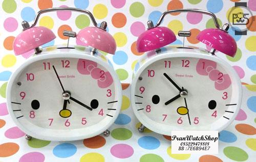 Jual Alarm Clock Jam Weker Hello Kitty Bunyi Kencang