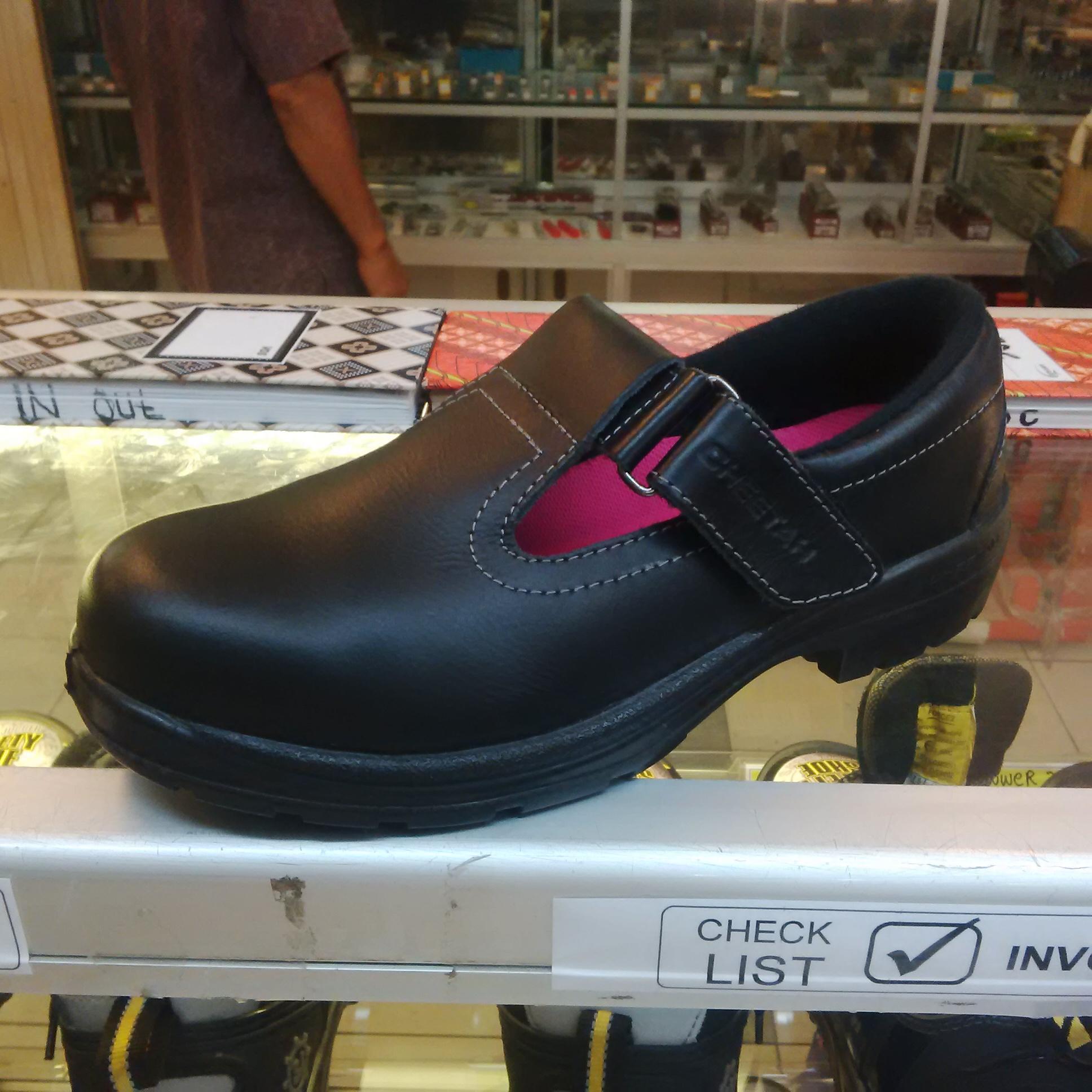Jual Sepatu Safety Shoes Cheetah 4008H Untuk Wanita